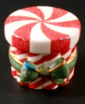 Avon Holiday Poured Candle Peppermint Box 2004 Box Only Candle not Included - $6.85