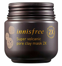 Innisfree Super Volcanic Pore Clay Mask 2x 100ml  3.4oz [US SELLER] - €8,35 EUR