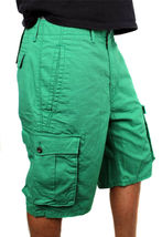 Levi's Men's Premium Cotton Cargo Shorts Original Relaxed Fit Green 124630032 image 3