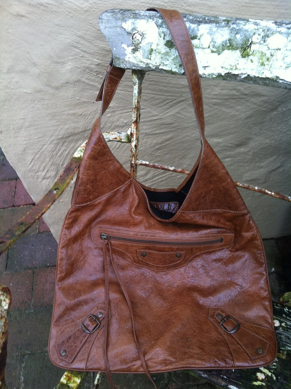 Primary image for Balenciaga mint FB Hobo in Caramel - The Ultimate Treat.