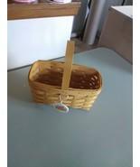 Longaberger Fixed Handle Candle Basket - 1999 - $9.15