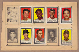 LOT OF 7: 1962 Topps stamps Minnesota Twins on album page Harmon Killebrew - $9.95