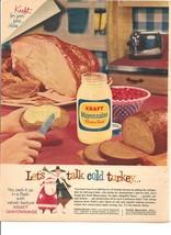 Vintage Ad 1960 Kraft Mayonnaise  - $6.00
