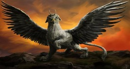 GRIFFIN COMPANION CONJURING SPELL! CONFIDENCE! WEALTH MAGICK! FIERCE POWER! - $59.99
