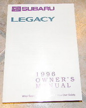 1996 subaru legacy owners manual new original - $20.99
