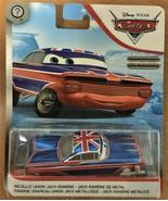 Disney Pixar Cars - Scavenger Hunt - #GJY89 Metallic Union Jack Ramone - $11.49