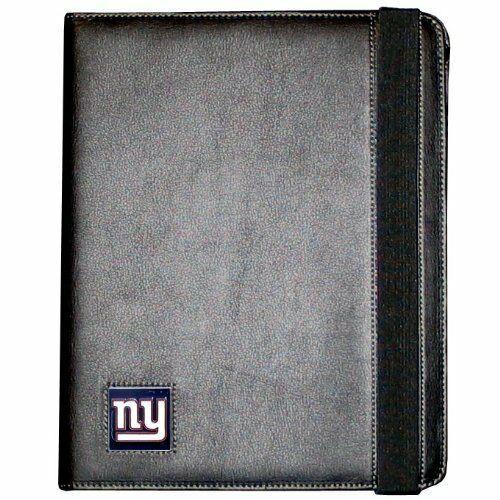 NFL iPad 2 FAUX LEATHER BOOK FOLIO CASE NEW YORK NY GIANTS FIPC090B