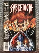 Sabretooth #2 - 1993 Marvel Modern Age Comic Book - LOW GRADE/WATER DAMAGED - $4.27