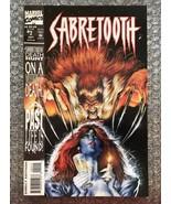 Sabretooth #2 - 1993 Marvel Modern Age Comic Book - LOW GRADE/WATER DAMAGED - $3.92
