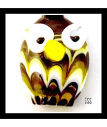 Handcrafted Owl Glass Necklace - $14.99