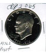 1976S Ike Eisenhower Bicentenial Dollar Proof CP2065 - £2.94 GBP