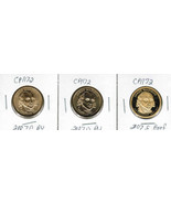 2007 3 Coin P, D and S James Madison Dollar Set... - €10,08 EUR