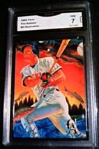 1995 Fleer Tim Salmon GMA Graded 7 NM Pro-Visions Illustration baseball 5 - $9.99