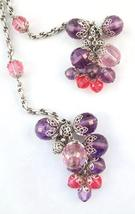 Napier Faceted Purple & Pink Beads Couture Runway Necklace or Belt c. 1960s - €190,38 EUR