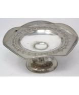 "Vintage Silverplated Compote Pedestal Candy Dish 6.5""H - $35.99"