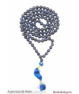 Lapiz Lazuli Neckalce / Lapiz Lazuli Mala - 108 beads - $69.30