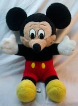"BIG! VINTAGE Walt Disney MICKEY MOUSE 19"" Plush STUFFED ANIMAL TOY GERMANY - $29.70"