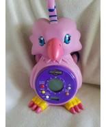 Digimon Biyomon Talking alarm Clock Digital & Analog tested HTF vintage - $29.69
