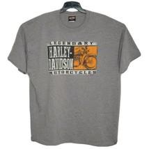 Myrtle Beach Harley-Davidson T Shirt Mens Gray H-D 2XL XXL South Carolina - $14.71
