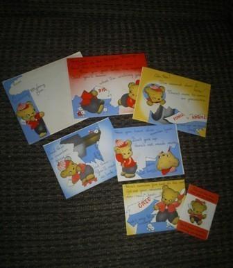 Vintage Mystery Birthday Greeting Card, American Greeting Pu