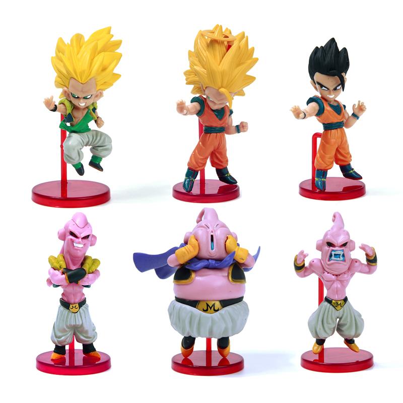 Figurine Dragon Ball Z Goku Buu Frieza Cell 11cm Anime Manga Collection