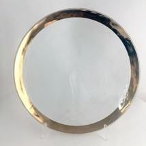 """Annieglass Hand Made """"Roman Antique"""" Serving Platter Hand Signed 13.5"""" - $41.59"""