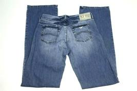 AJ Armani Jeans RN# 103723 Straight Leg Men's Jeans Indigo Size 31x35 - $39.99