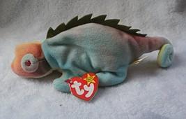 Ty Beanie Baby - Iggy The Iguana Tye-Dyed w/ Spikes - $6.41