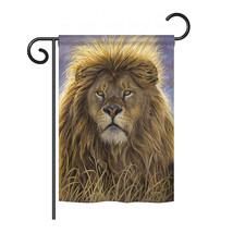 "Lion - 13"" x 18.5"" Impressions Garden Flag - G160096 - $19.97"