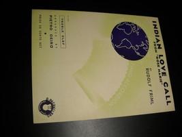 Sheet music indian love call rose marie rudolf friml 1924 o pagani   bro music 01 thumb200