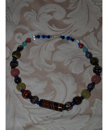 Murano Inspired Glass bead Necklace  - $6.95