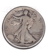 Nice 1917 S Walking Liberty half dollar. - $26.27 CAD