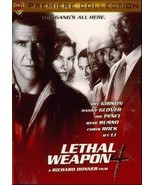 LETHAL WEAPON 4 Mel Gibson, Danny Glover DVD 16075 Promo lik - $5.00