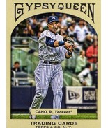 2011 Topps Gypsy Queen Robinson Cano New York Yankees - $1.50