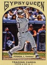 2011 Topps Gypsy Queen Jorge Posada New York Yankees baseball card - $1.50