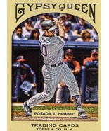 2011 Topps Gypsy Queen Jorge Posada New York Yankees baseball card - $1.50