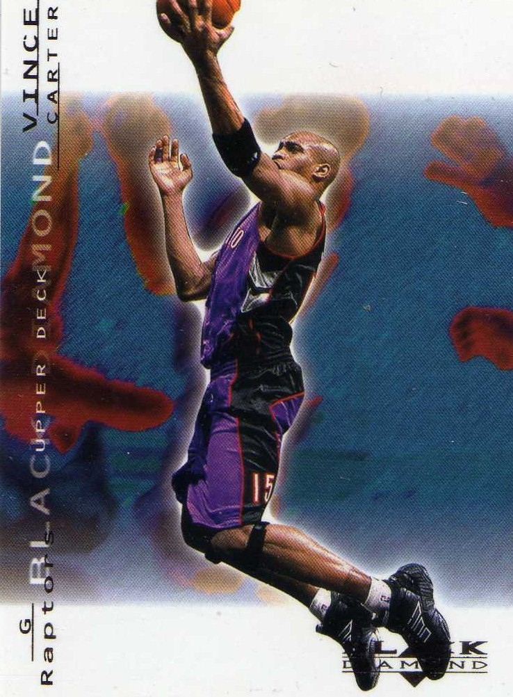 2000-01 Upper Deck Black Diamond Vince Carter Raptors Suns