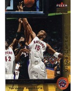 2000-01 Fleer Premium Vince Carter Raptors Nets Magic Suns Mavericks - $2.00