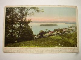 Postcard Canadarago Lake NY 1910 Richfield Springs Vintage  - $8.75