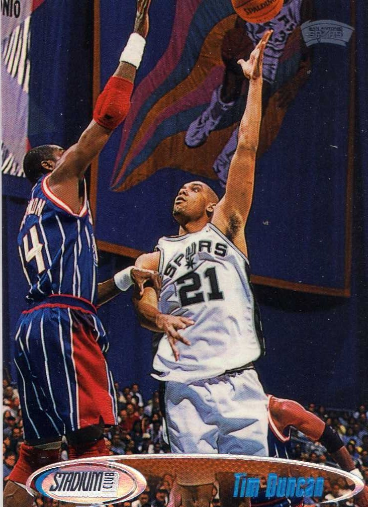 1998-99 Topps Stadium Club Tim Duncan San Antonio Spurs