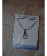 Swarovski Inspired Design Fashion  Necklace Eternity Forever - $6.95