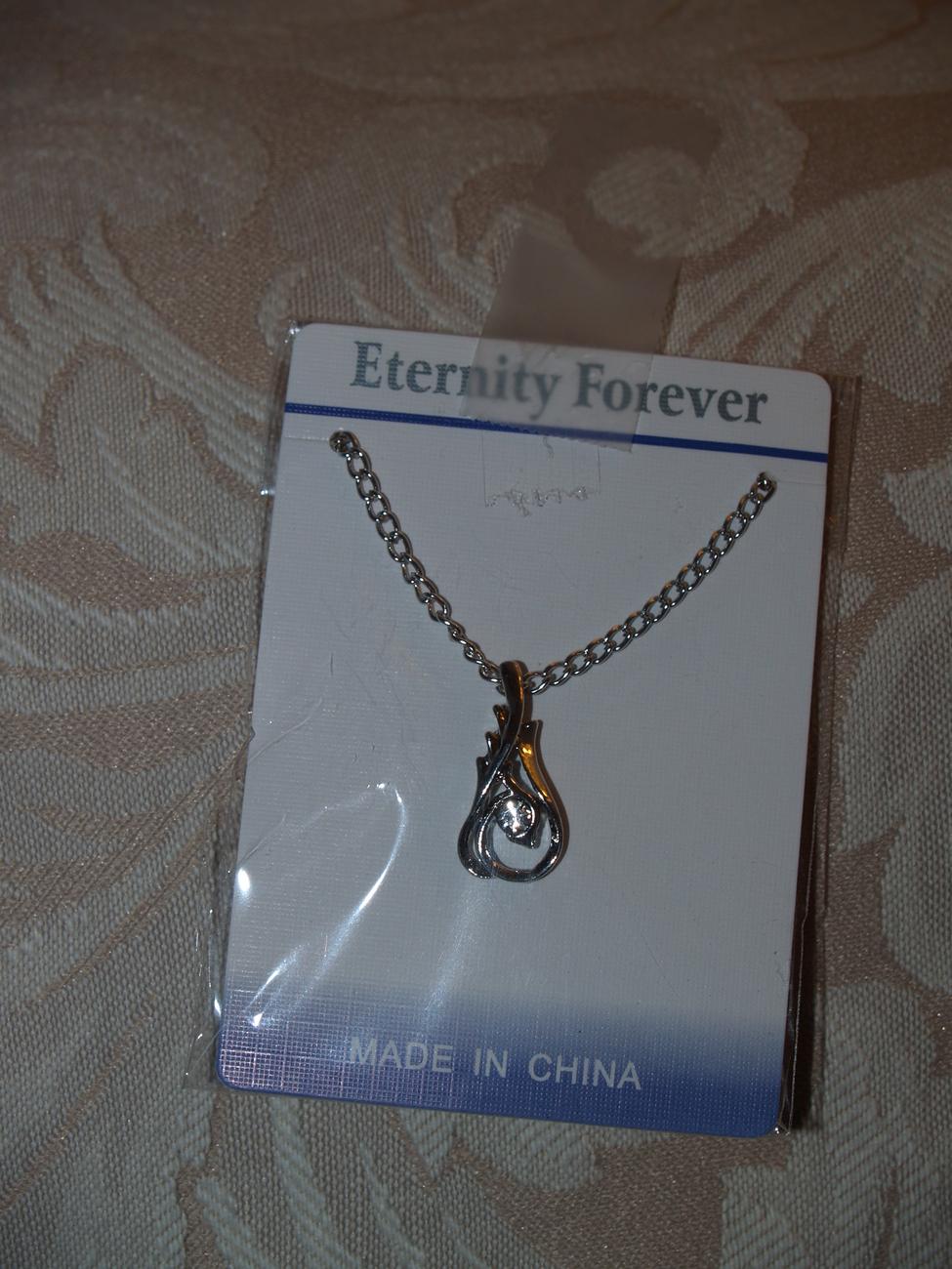 Swarovski Inspired Design Fashion  Necklace Eternity Forever