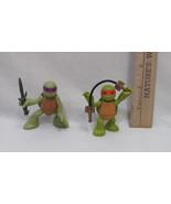 2013 Teenage Ninja Turtle Figure In Training Donnie & Mikey By Viacom Lo... - $9.89