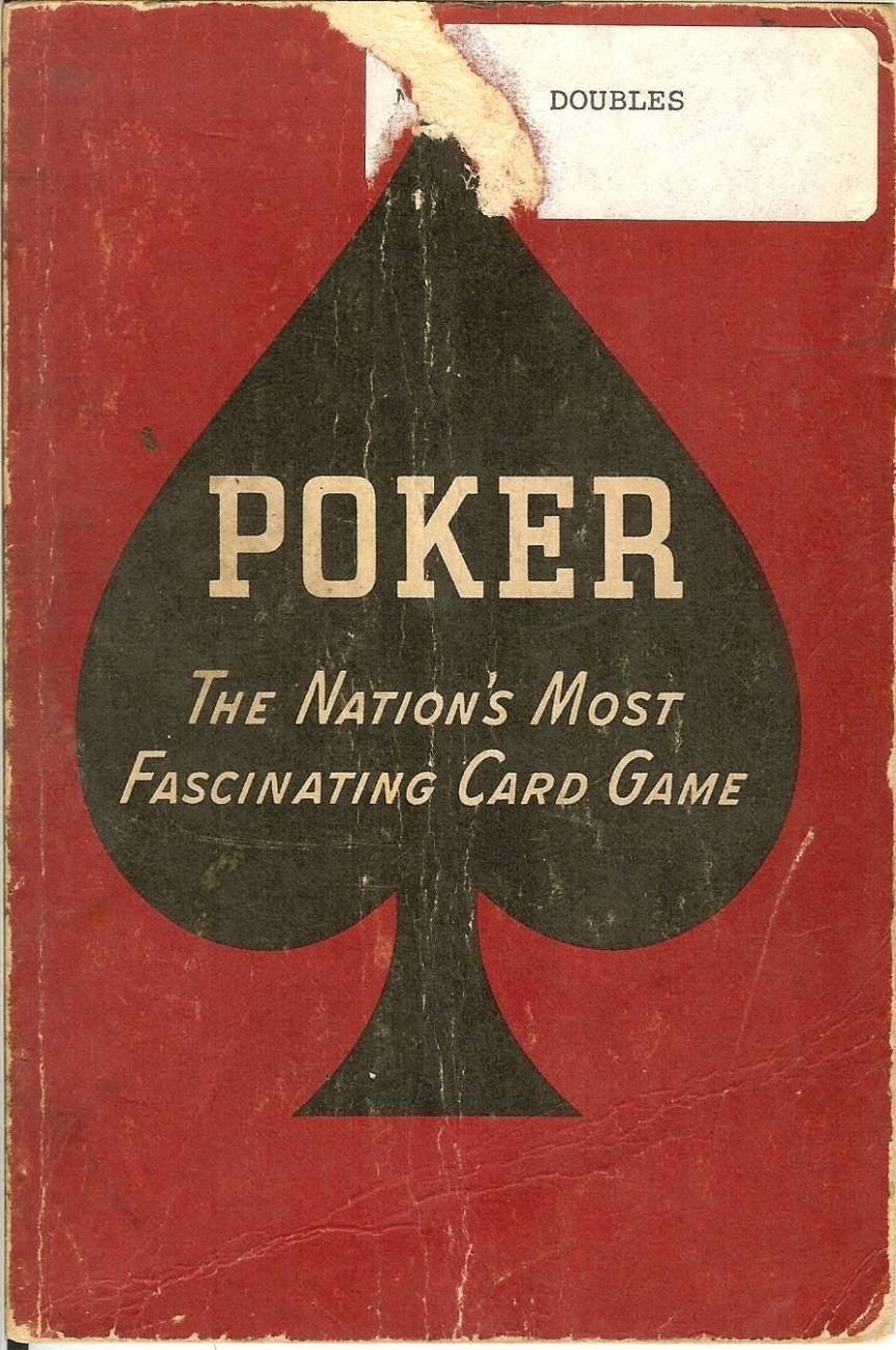 poker the nations most fascinating card game 1941 rare