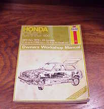 Haynes Repair Manual for the Honda Civic 1200, 1973 through 1979, no. 160 - $4.95