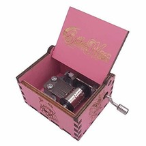 Dream Loom Wooden Music Box,Hand Crank Classical Carved Wooden Sailor Mo... - $12.95
