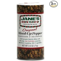 Janes Krazy Mixed Up Pepper, 2.5 oz Pack of 3 image 1