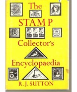 BOOK--The stamp collector's encyclopaedia by Sutton, Richard - $3.99