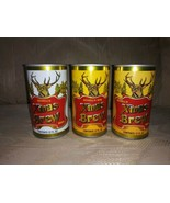 3 August Schell's Xmas Brew Beer Cans 12 Oz Vintage VTG Christmas Man Ca... - $19.00