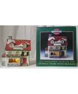 MEMORIES COLLECTION ILLUMINATED PORCELAIN General Store with Figurine  - $24.74